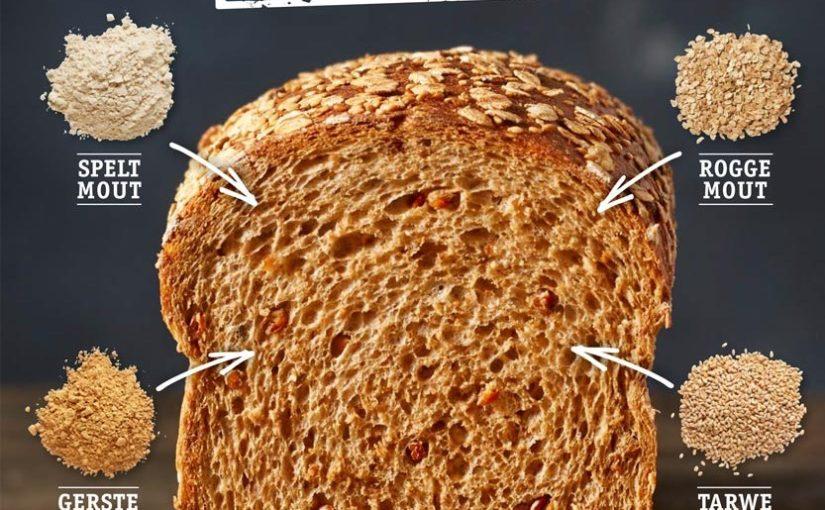 """4 Moutenbrood gemalen in Zeddam op de molenstenen van de """"grafelijke korenmolen."""""""